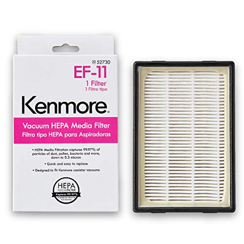 Kenmore 52730 HEPA Media Vacuum Cleaner Exhaust Air Filter for Canister Vacuum 81614