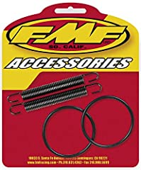 The FMF O-Ring & Pipe Spring Kit offers high quality replacement pipe O-rings and springs for FMF motorcycle and ATV exhausts.FMF constructed each piece of the kit with top quality coated materials for maximum performance and durability.Kit includes ...