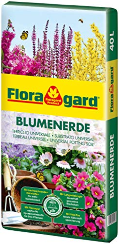 Floragard Blumenerde, Erdfarben, 40 Liter