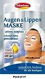 Lote de 10 Schaebens Máscara Ojos y labios (10 x 2 x 5 mL para 20 aplicaciones)