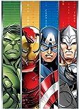 Coperta Plaid Morbida e Calda per Bambini Pile con stampa Hulk Thor Iron Man (Avengers Supereroi)