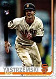 2019 Topps Update Baseball #US245 Mike Yastrzemski Rookie Card. rookie card picture