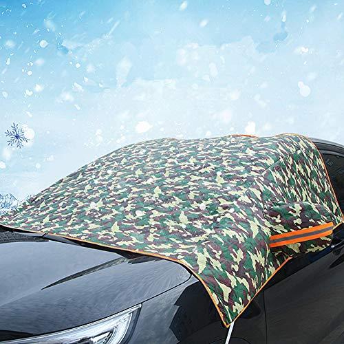 Parasole per Auto Parabrezza Interno Parasole Auto Parabrezza Anteriore Copertura antigelo Schermo Auto Coperture per Parabrezza per Auto Green Thick,Free Size