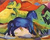 1art1 Franz Marc - Das Kleine Blaue Pferdchen, 1912 Poster