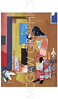Tri-Flor Prints and Frames Falling Star, 1979 by Romare Bearden, Art Print Poster, Paper Size 11