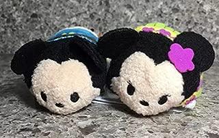 Disney Hawaii Exclusive Aloha Mickey Hula Minnie Tsun Tsum Set
