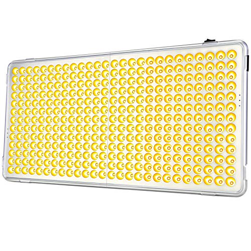 """Grow Light for Indoor Plants, Relassy LED Grow Lights for Seed Starting, 338 LEDs, 22"""" Large Grow Panel Light, Full Spectrum Indoor Plants Grow Light for Veg and Flower Greenhouse Hydroponic"""