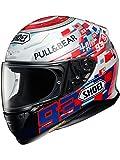 Shoei NXR Marquez Power up Casco del motociclo Taglia XS