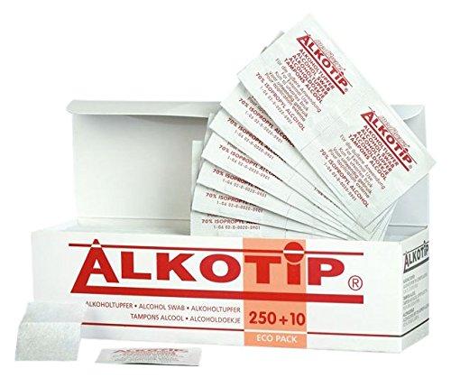 ALKO Tip 01275851Eco standard di tamponi imbevuti di alcool (Confezione da 260pezzi)