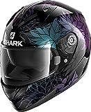 SHARK NC Casque Moto Hommes, Noir, L