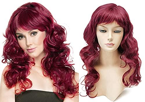 comprar pelucas mujer granate on-line