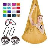Viktion Authentische 4m*2.8m Anti-Gravity-Yoga Set Aerial Yoga Tuch Hängematte...