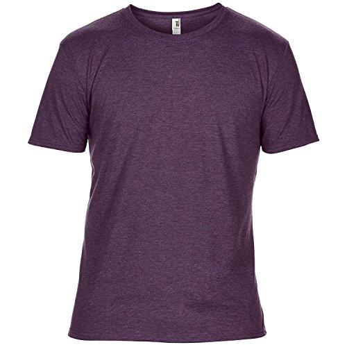 Anvil - T-Shirt à Manches Courtes - Homme (M) (Aubergine chiné)