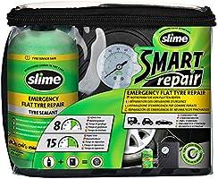 Slime CRK0305-IN Repareren van lekke band,slimme reparatie,noodset voor autobanden,inc. afdichtmiddel en pomp om banden...