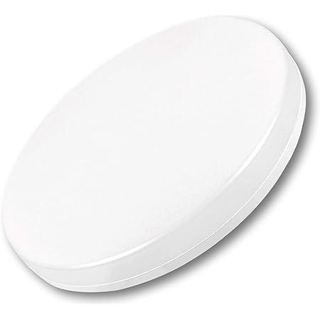 AGOTD Plafonnier LED 18W 4000K 2400lm lampe de salle de bain Blanc Neutre, Ø28cm Plafonnier,IP54 lampe de salle de bain étanche,idéal pour salle de bain balcon couloir cuisine salon lampe