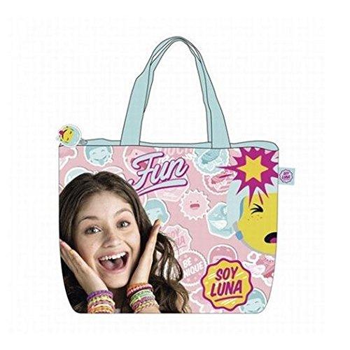 Soy Luna WD11276 Bolsa de Tela y de Playa