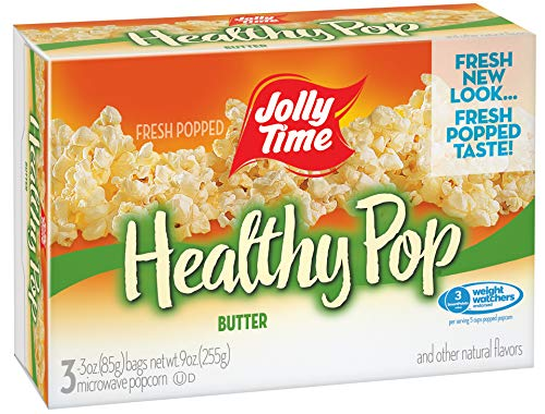 Best Price Jolly Time Healthy Pop Microwave Popcorn, Butter Flavor, 3 Count