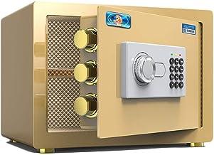 HTTBXG Safes Business Password Safes, Small Household Office All Steel Security Safe Deposit Box Hide Wardrobe Mini Storag...