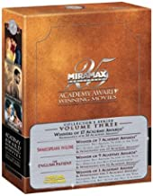 Academy Award Winning Movies Volume 3: (The English Patient / Il Postino / Shakespeare in Love)