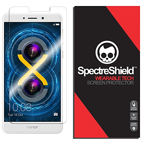 Spectre Shield Screen Protector for Huawei Honor 6X Accessory Huawei Honor 6X Screen Protector Case Friendly Full Coverage Clear Film
