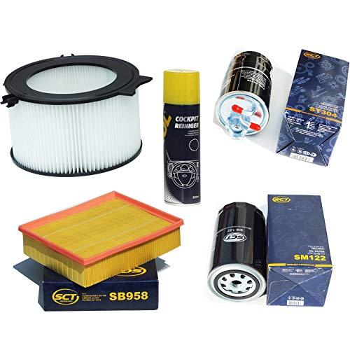Inspektionspaket Filteristen Pollenfilter SCT Luftfilter Ölfilter Kraftstofffilter Geschenk