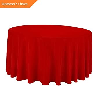 Kaputar 5 Pack 90 inch Round Wedding Polyester Table Cover Wedding Table Cloth | Model TBLCLTH - 474 |
