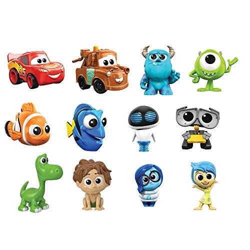 Disney Pixar GMC43 - Mini Figuren (1 Stück), zufällige Auswahl, Sammelfiguren, Spielzeug ab 3 Jahren