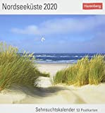 Nordseeküste Postkartenkalender 2020. Wochenkalendarium. Blockkalender. Format 16 x 17,5 cm - Harenberg