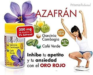 AZAFRAN + Garcinia Cambogia + Café Verde 766 mgrs 30 cps