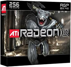 ATI Radeon X850 Pro 256 MB AGP Gaming Graphics Card