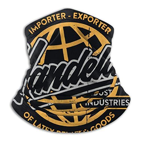 EOPRO Seinfeld Vandelay Industries - Máscara de esquí para el cuello de microfibra para deportes al aire libre
