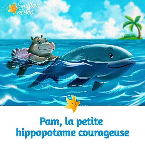 Couverture de Pam, la petite hippopotame courageuse