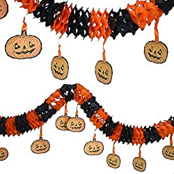 Vintage Halloween streamer decorations