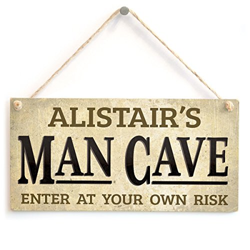 Personalised Man Cave Sign - Custom Bar Man Cave Wooden Plaque