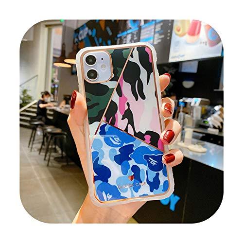 Carcasa para iPhone 11 11Pro Max XR XS Max X 6S 7 8 Plus con diseño de leopardo
