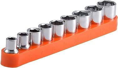 ZHTY 9PCS Adaptador de Impacto y Conjunto Reductor Adaptadores reductores de zócalo Adaptadores de zócalo de trinquete para Llaves de trinquete 5/6/7/8/9/10/11/12/13mm