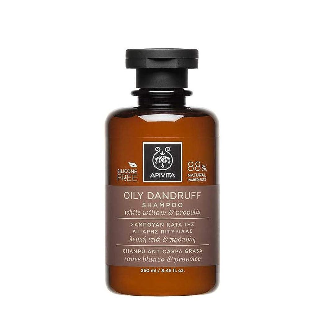 ステープルエネルギー軍艦アピヴィータ Oily Dandruff Shampoo with White Willow & Propolis (For Oily Scalp) 250ml [並行輸入品]