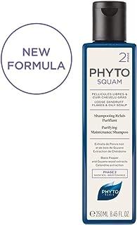 PHYTO Phytosquam Purifying Maintenance Shampoo, 6.7 fl oz