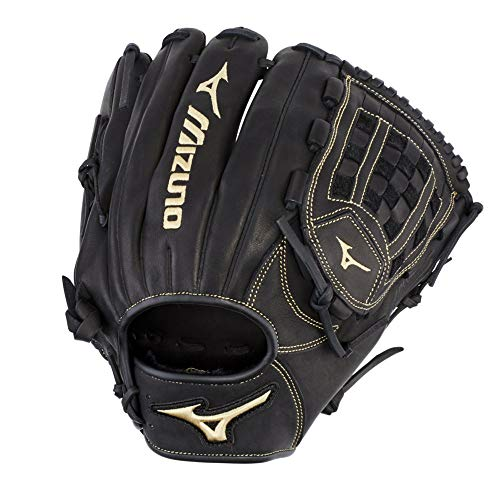 Mizuno GMVP1200P3 MVP Prime Pitcher/Outfield Baseball Gloves, 12', Left Hand