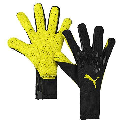 PUMA Future Grip 19.1 Fußball Torwarthandschuhe Puma Black-Yellow Alert 9