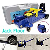 Hydraulic Car Trolley Floor Quick Lift Jack 2 Tonne Heavy Duty Floor Jack Vehicle Wheel Repair Tool Jack...