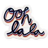 Parche termoadhesivo para la ropa, diseño de Ooh La La