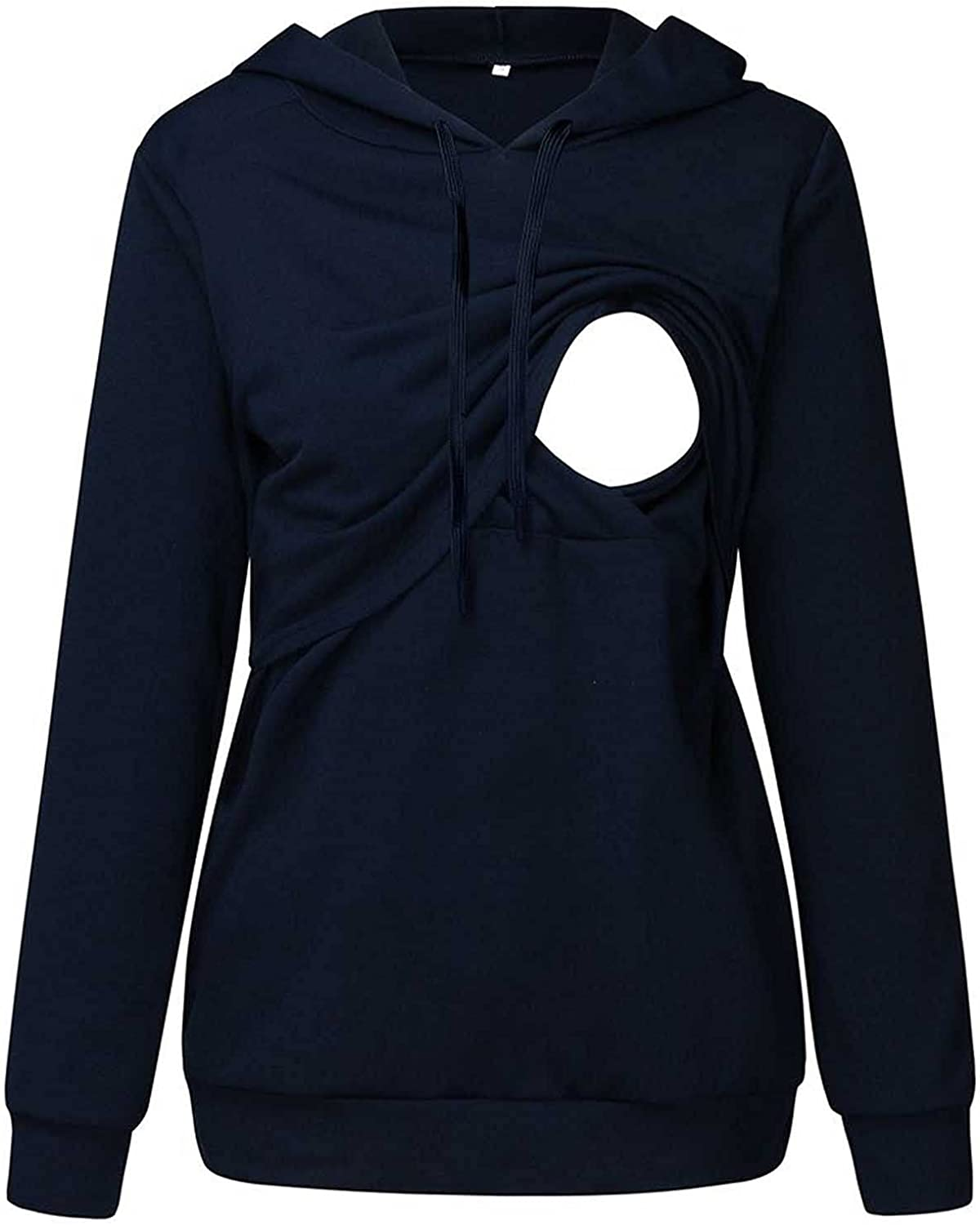 Nursing Pullover Top Easy-to-use for Quality inspection Womens Hoodie Maternity Sweatshirt Brea