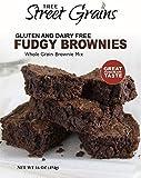 Whole Grain Fudgy Brownies- Gluten & Dairy Free by Tree Street Grains