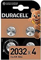 Duracell Özel 2032 Lityum Düğme Pil 3V, 4'li paket (DL2032/CR2032) anahtarlıklar, tartılar, giyilebilen eşyalar ve tıbbi...