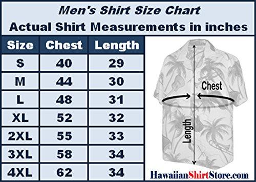 Men's Parrots Beach Border Hawaiian Shirt