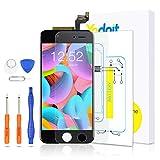 Yodoit para Pantalla iPhone 6s Negro, Conjunto de Pantalla LCD y digitalizador Reemplazo de la Pantalla táctil de Vidrio con Marco + Kit de Herramientas de reparación (4,7 Pulgadas)