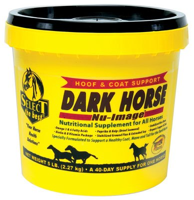 Hoof and Coat Support Dark Horse Nutritional Supplement for All Horses 5lb