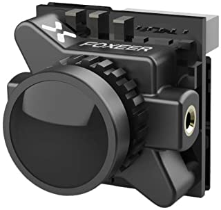 Foxeer Razer Micro FPV Camera 1/3 CMOS 1.8mm Lens 1200TVL NTSC/PAL Switchable for 150 170 180 210 2/3/4 inch Carbon Fiber FPV Racing Drone Quad Quadcopter Frame (Razer Micro 16:9)