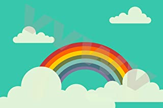 VVWV Rainbow Artwork Poster 300 GSM Office Bedroom Poster Stylish Big Size Boys Home Decoration Photography Posters W X H ...